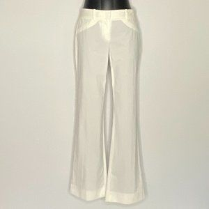 Theory Pants Wide leg white Light Cotton 4